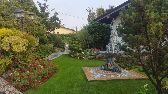 giardino dopo manutenzione